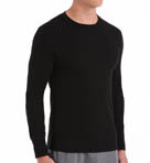 Classic Baselayer Thermal Waffle Crew Neck Top Image