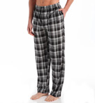 Matte Silky Plaid Fleece Sleep Pant Image