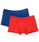 Lo Rise Cotton Stretch Trunk-2 Pack Image