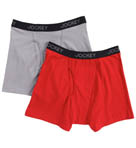 Jockey Cotton Stretch Boxer Brief - 2 Pack 8496