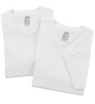 Jockey Tall Man V-Neck T-Shirts - 2 Pack 9984