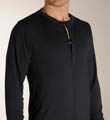 Long Sleeve Henley Shirt Image