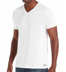 Kenneth Cole Super Fine Cotton V-Neck T-Shirts - 2 Pack RN28M02