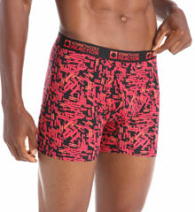 Kenneth Cole Reaction Logo Cotton Stretch Boxer Brief REM3104