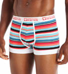 Kenneth Cole Reaction Fashion Stripe Cotton Stretch Trunk REM3105