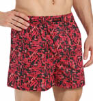 Kenneth Cole Reaction Cotton Logo Woven Boxer REM3220