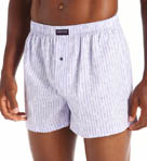 Kenneth Cole Reaction Fashion Stripe Cotton Woven Boxer REM3225