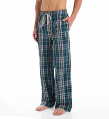 Kenneth Cole Reaction Blue York Nelson Plaid Woven Lounge Pant REM6221