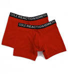 Kenneth Cole Reaction REAL COOL Stretch Cotton Boxer Briefs - 2 Pack REM8202