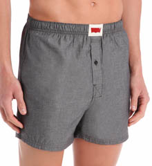 Levi's Single Pack 100% Cotton Chambray Boxers LVWOV1