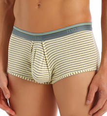 Male Power Heather Stripe Lo Rise Enhancer Short 150-208