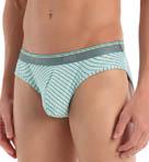 Heather Stripe Lo Rise Bikini Image