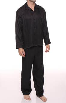 Mansilk Paisley Jacquard Pajama Set M415JP