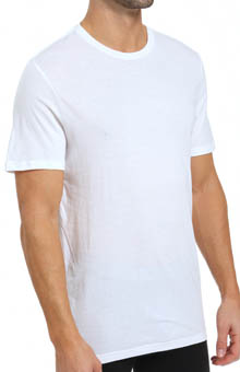 Michael Kors Soft Touch Cotton Modal Crew Neck T-Shirt - 3 Pack 09m0582