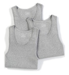 Soft Touch Cotton Modal A-Shirt Tank Tops - 3 Pack Image