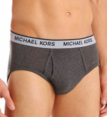 Michael Kors Soft Touch Cotton Modal Briefs - 3 Pack 09M0624