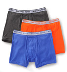 Soft Touch Cotton Boxer Briefs - 3 Pack Image