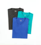 Soft Touch Cotton Modal V-Neck T-Shirt - 3 Pack Image