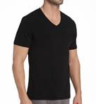 Silver V-Neck T-Shirt Image