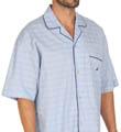 Nautica Woven Camp Pajama Top 136665