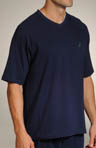 Nautica Match Play Solid SS V-Neck Shirt 138061