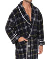 Printed Plush Robe Image