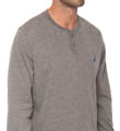 Sueded Jersey Henley Image