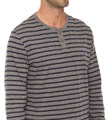 Nautica Long Sleeve Stripe Henley 208766