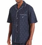 J Class Print Anchor Camp Shirt Image