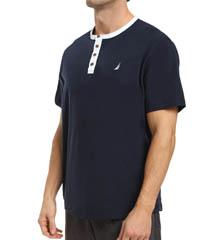 Nautica Short Sleeve Henley KS18S4