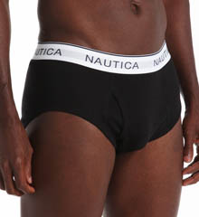 Nautica 100% Cotton Full Cut Brief- 3 Pack UR3401