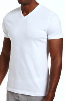 Nero Perla Studio LP Short Sleeve V-Neck T-Shirt 16890