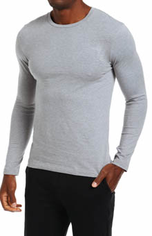 Nero Perla Studio LP Long Sleeve Crew Neck T-Shirt 16891
