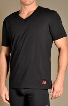 New Balance Essential V-Neck T-Shirts - 2 Pack 00912CS