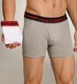 New Balance Contrast Waistband Boxer Briefs - 2 Pack 50922