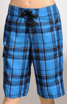 O'Neill Boys Santa Cruz Plaid 2 Boardshort 12206704