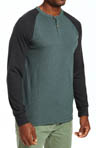 Shawshank Raglan Henley Shirt Image
