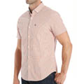 Short Sleeve Tri-Color Gingham Woven Shirt Image