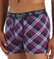 Original Penguin Range Plaid Knit Boxer Brief RPM3128