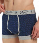 Cotton Stretch Argyle Penguin Fashion Trunk Image