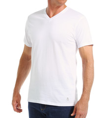 Original Penguin 100% Cotton V-Neck Tee - 3 Pack RPM8801