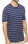 Americana Stripe Crew Neck T-Shirt Image