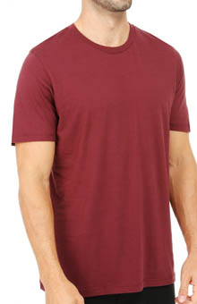 Pact Rosewood Crew Neck T-Shirt MSCROS