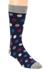 Pact Orchid Multi Dot Crew Sock MSKOMD
