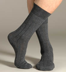 Pantherella 5321 Solid Rib Micro Cushion Socks at Sears.com