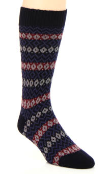 Pantherella Bamburgh New Peruvian Fair Isle Sock 5769