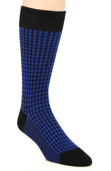 Pantherella Strand Bold Houndstooth Sock 593012