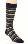 Pantherella Hayward 4 Colour Varied Stripe Sock 595253