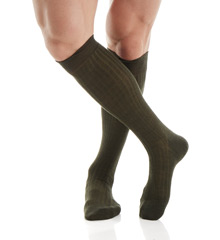 Pantherella 6796 OTC Merino Wool Dress Socks - 5x3 Rib at Sears.com
