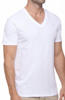 Papi 559101 3 Pack Deep V-Neck T-Shirt